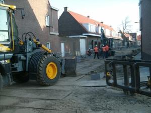 Beetsstraat/Busken Huetstraat rioleringswerkzaamheden
